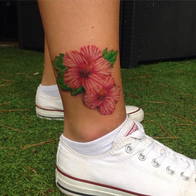 hibiscus tattoo