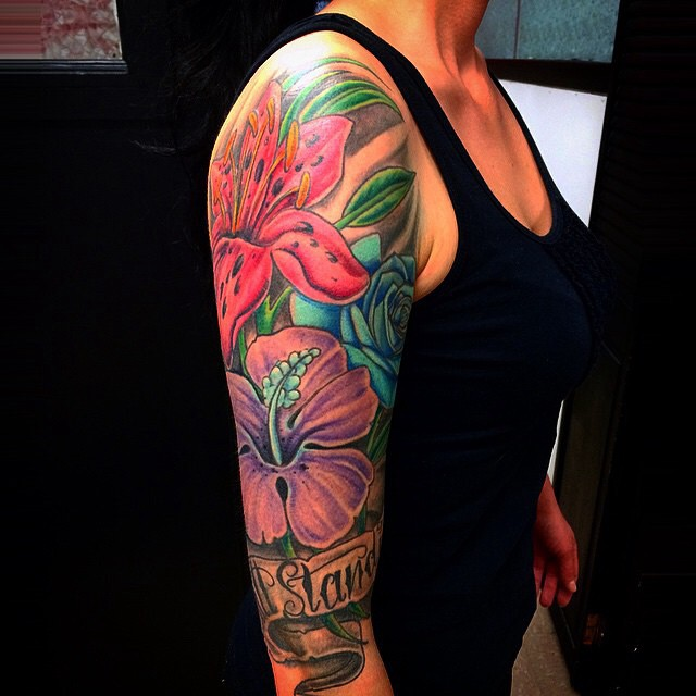 Flower Tattoos Designs Ideas And Meaning: 75+ Best Hibiscus Flower Tattoo Meaning & Designs