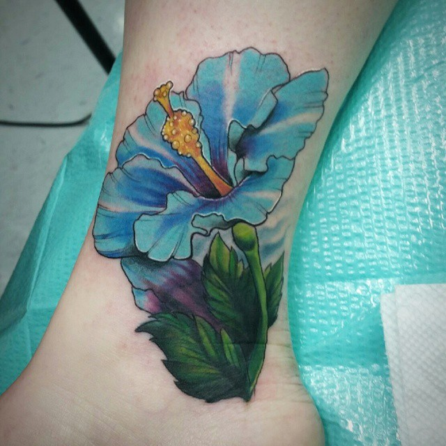75 Best Hibiscus Flower Tattoo Meaning Designs Art Of Nature 2019