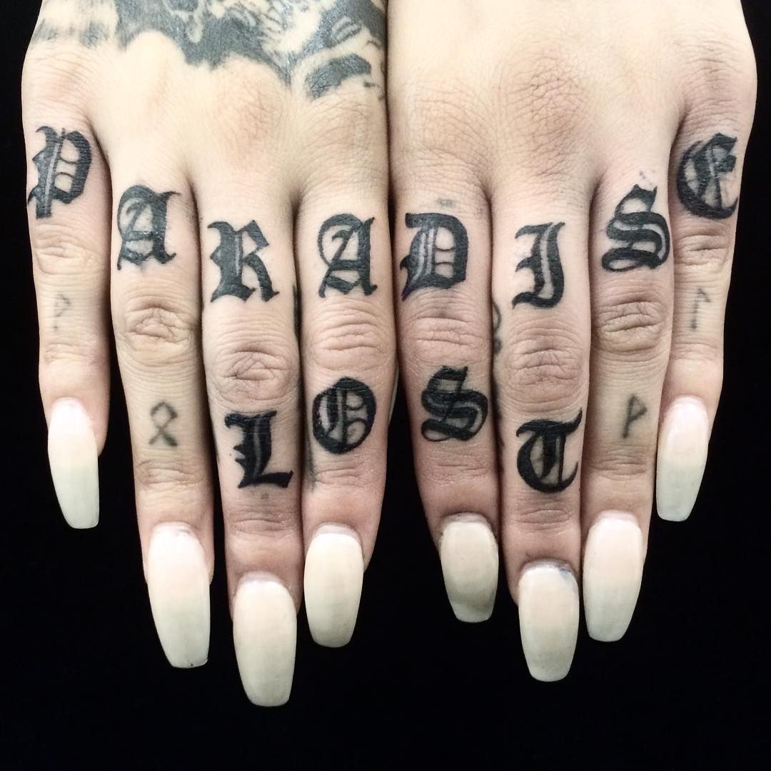 Knuckle Tattoos That Will Knock You Out Nice Memes