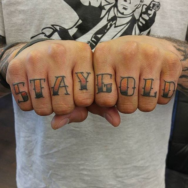 50 strong knuckle tattoo designs ideas art for brave