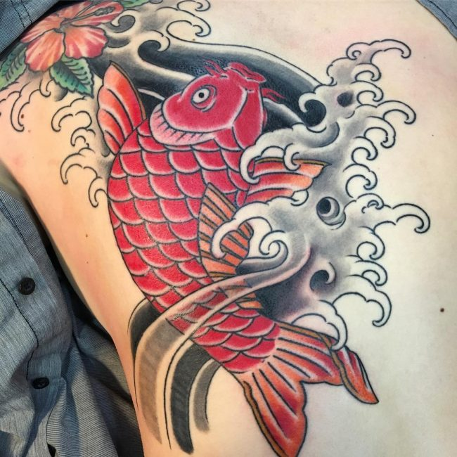 65 japanese koi fish tattoo designs meanings true for Koi fish designs