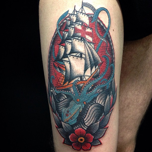 Kraken Tattoos