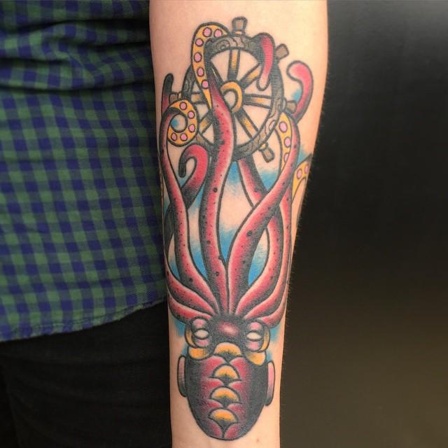 Kraken Tattoos