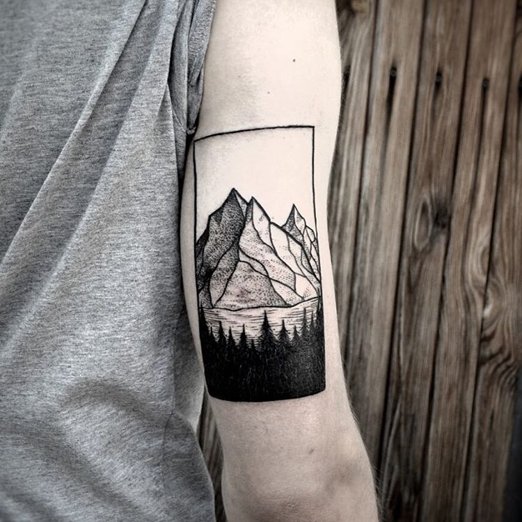 80 best mountain tattoo designs meanings for all ages. Black Bedroom Furniture Sets. Home Design Ideas