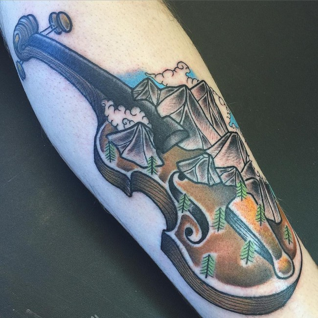 mountain tattoos