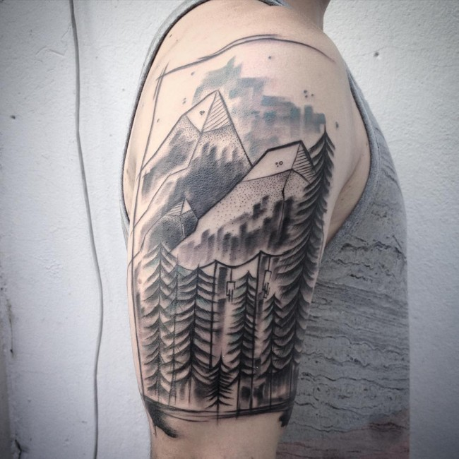mountain tattoos
