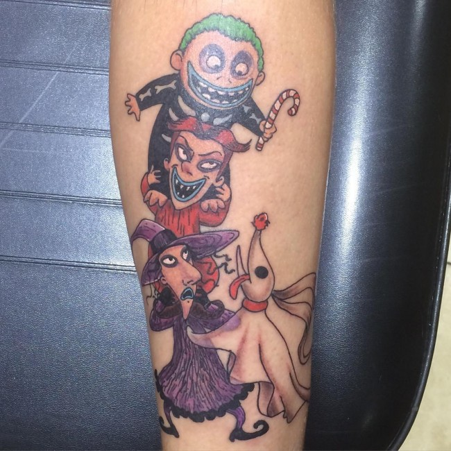 Nightmare Before Christmas Tattoos