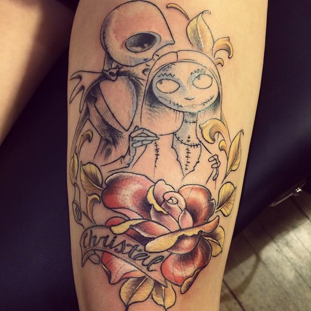 Nightmare Before Christmas Tattoos