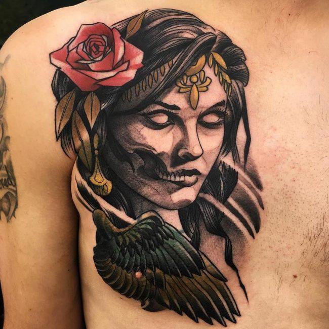 nipple tattoo_