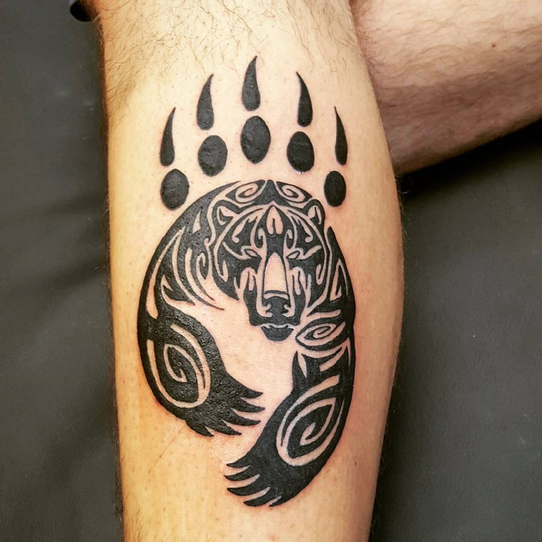 Pawprint Foot Tattoo: 90+ Best Paw Print Tattoo Meanings And Designs