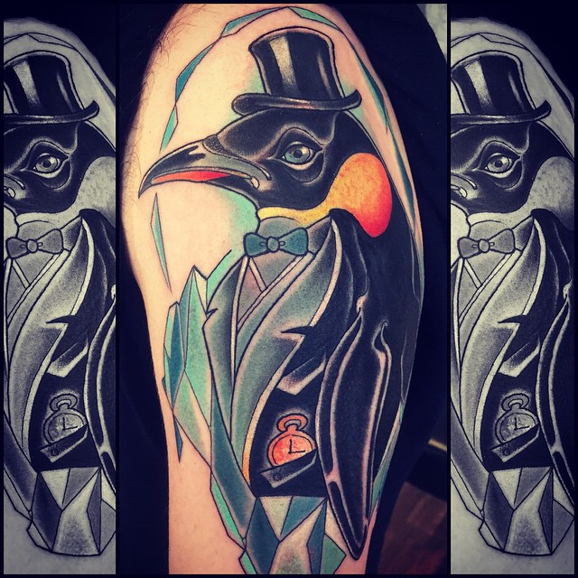 Penguin Tattoos