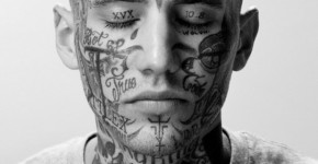 25 risky and ascetic gangster tattoo designs. Black Bedroom Furniture Sets. Home Design Ideas