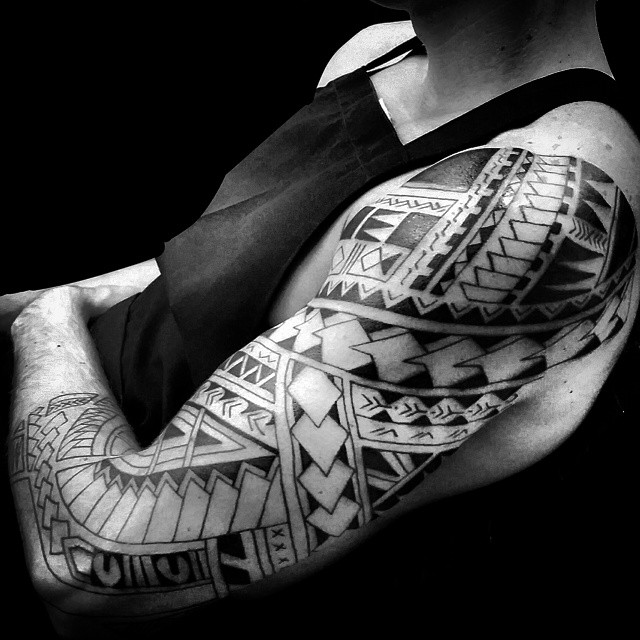 709ac98f88fac 60+ Best Samoan Tattoo Designs & Meanings - Tribal Patterns (2019)