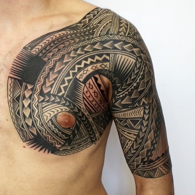 60+ Best Samoan Tattoo Designs & Meanings - Tribal
