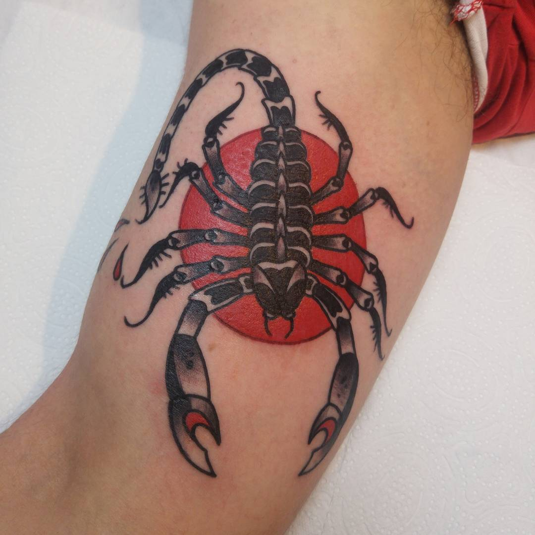 Scorpion Tattoo Designs Meanings