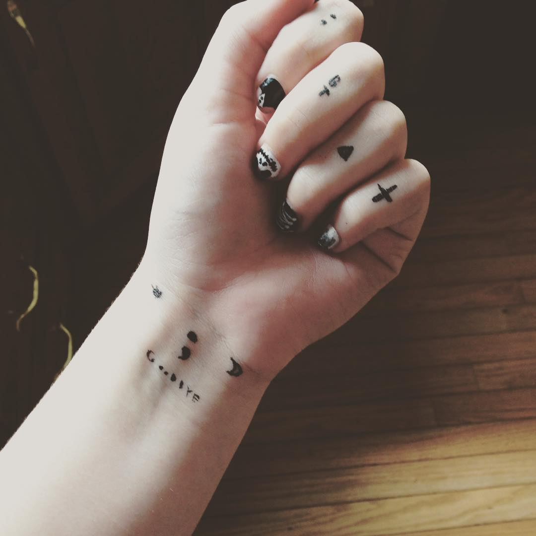 tattoos tattoo cute hand tiny designs meaning cool meanings finger simple body wrist delicate placement