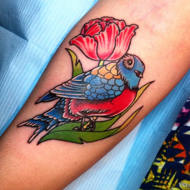 65 Cute Sparrow Tattoo Designs Meanings Spread Your Wings 2018