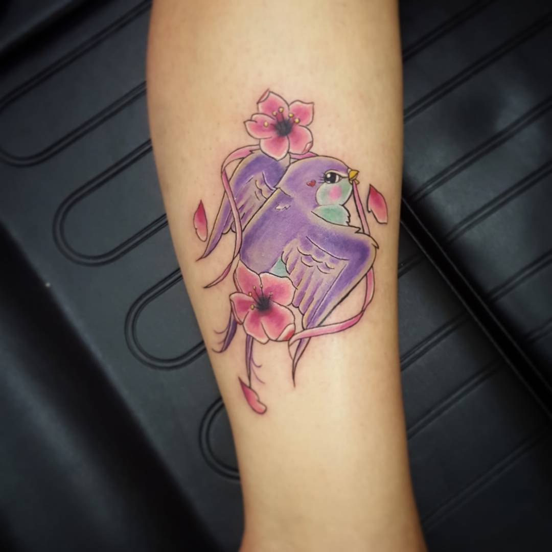 65+ Cute Sparrow Tattoo Designs & Meanings - Spread Your ... - photo#18