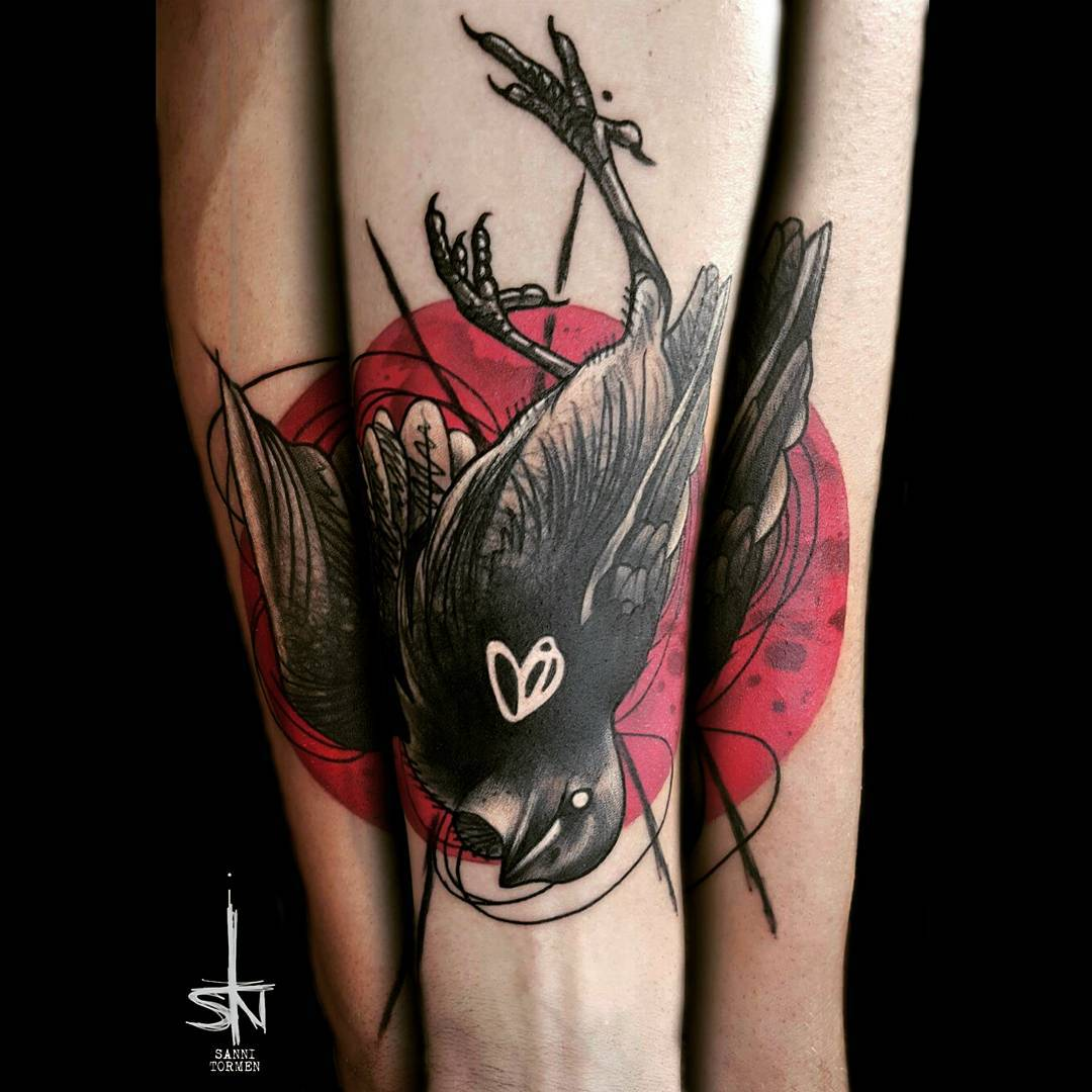 65 cute sparrow tattoo designs meanings spread your wings 2018. Black Bedroom Furniture Sets. Home Design Ideas