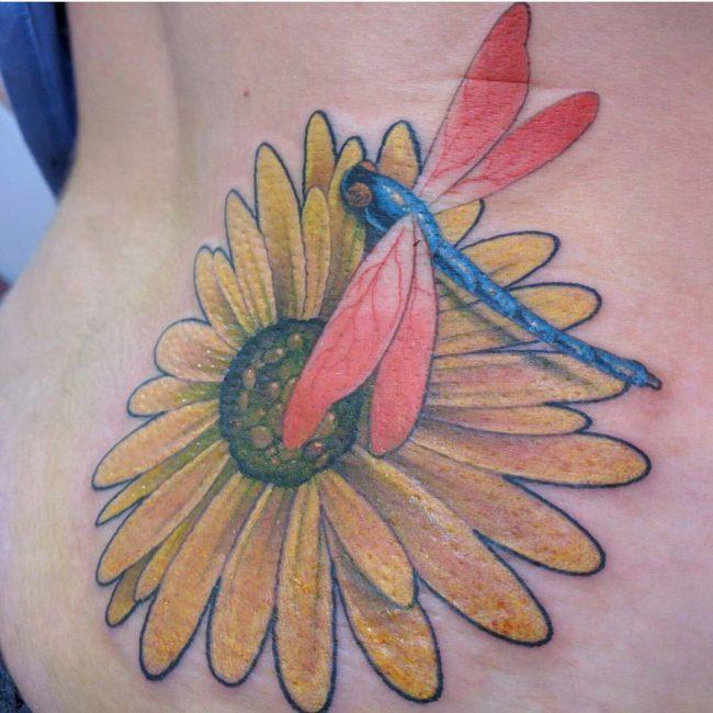sunflower tattoo_