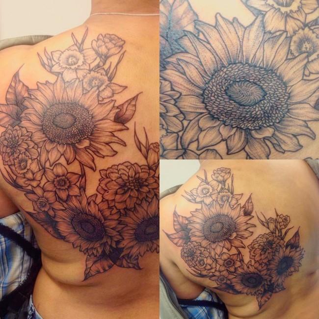 sunflower_tattoos_ (3)