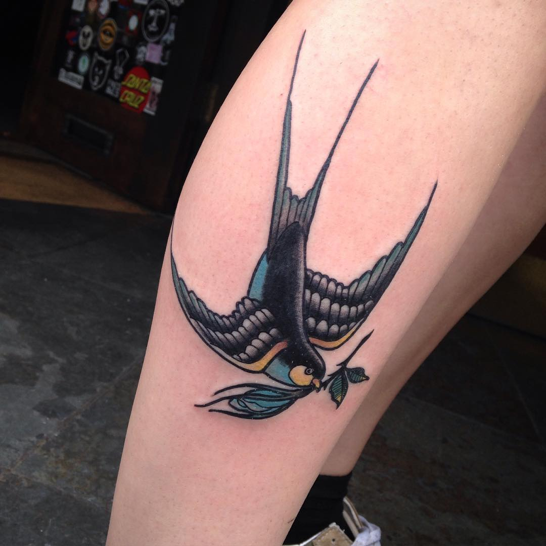80 Best Swallow Bird Tattoo Meaning and Designs  Fly in
