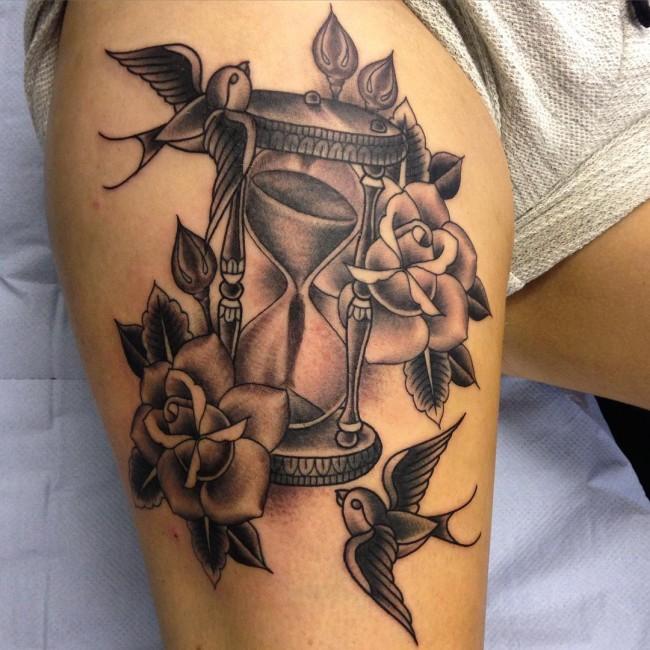 Swallow bird tattoo for Hard ink tattoo