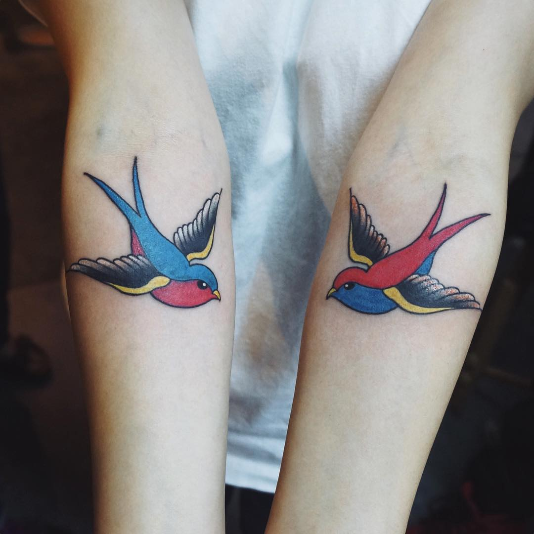 Swallow Bird Tatto 99