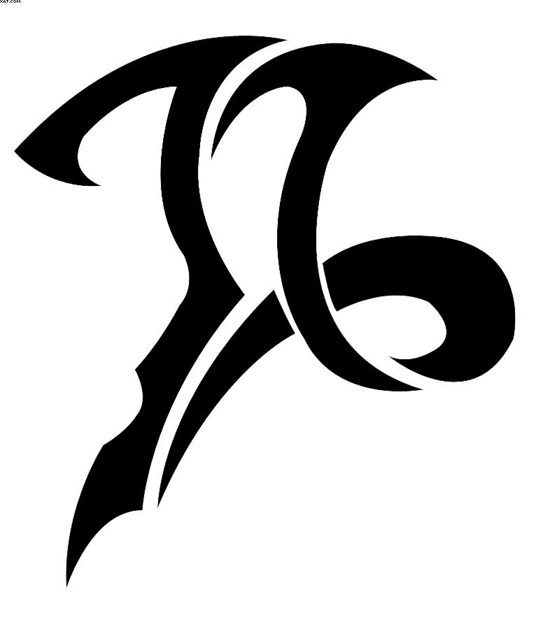 5e0920262 55+ Best Capricorn Tattoo Designs - Main Meaning is... (2019)