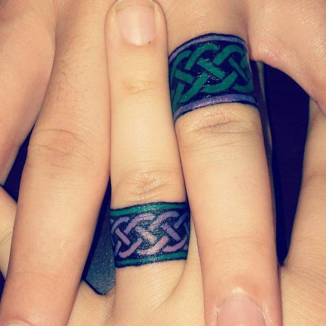 wedding ring tattoo_