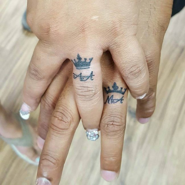 wedding ring tattoo_