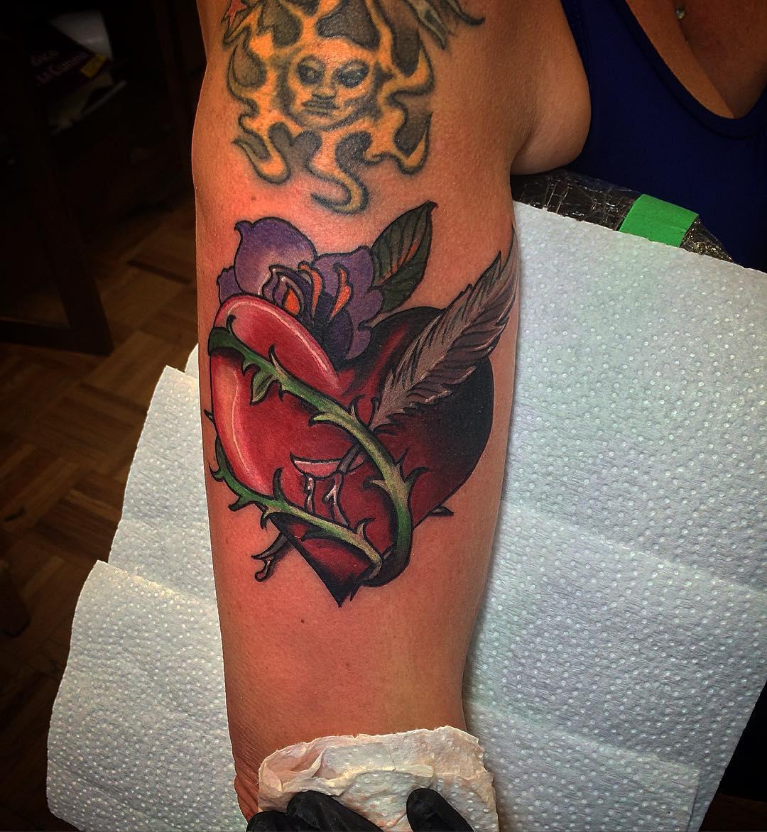 Heart Tattoo Designs 95+ Best Heart ...