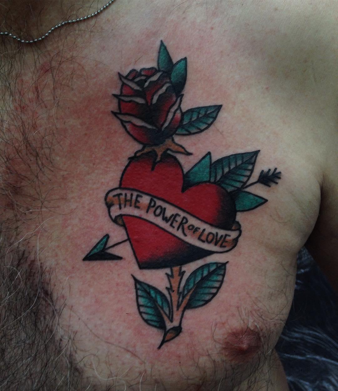 95+ Best Heart Tattoo Designs & Meanings - True Love (2018)