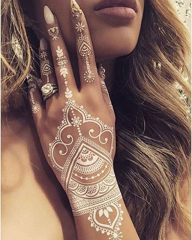 Ideas Meanings In 2019: 95+ Best White Tattoo Designs & Meanings