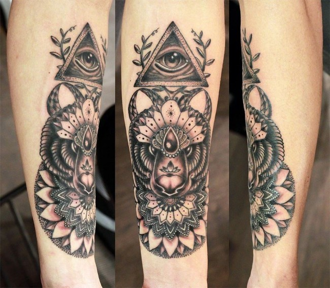 all seeing eye tattoo (12)