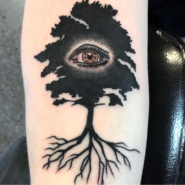 all seeing eye tattoo (22)