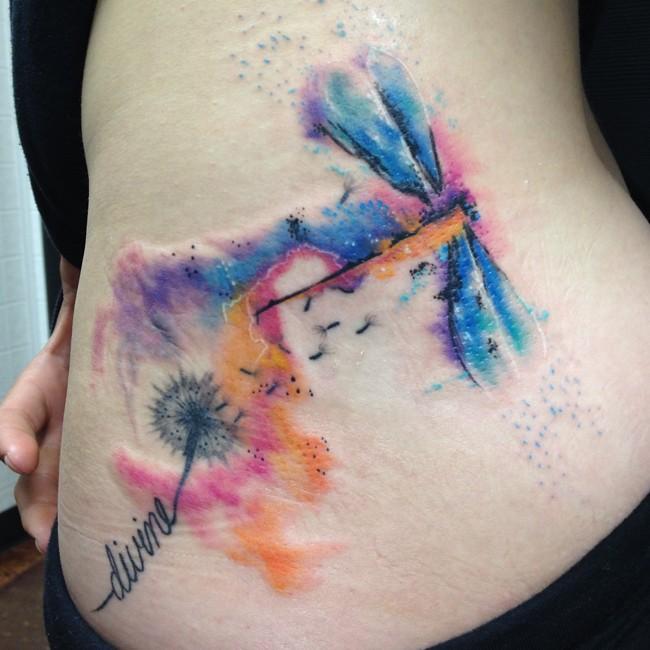 dragonfly tattoo (13)