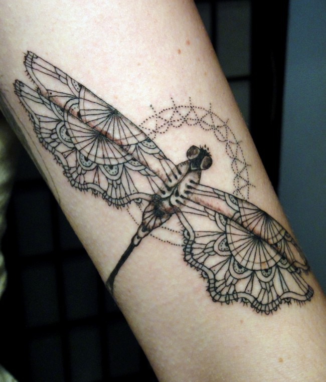 dragonfly tattoo (20)