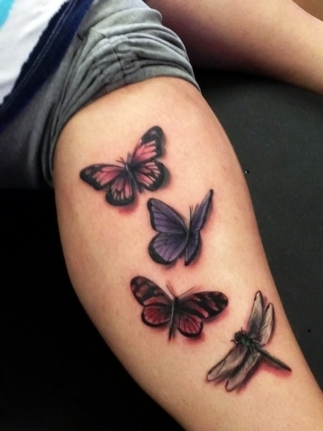 dragonfly tattoo (32)