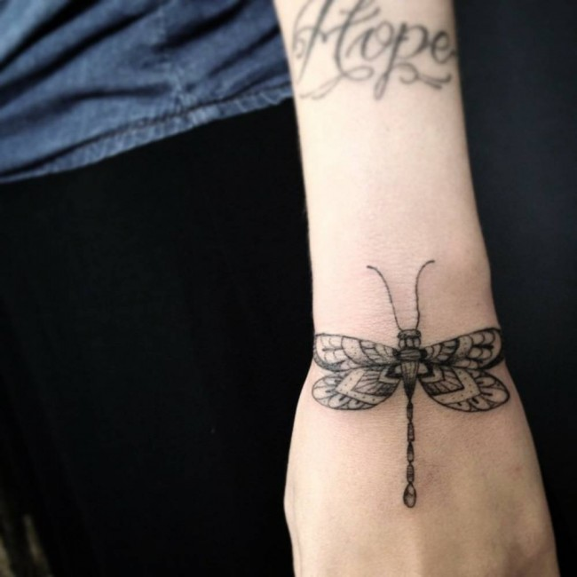 dragonfly tattoo (40)