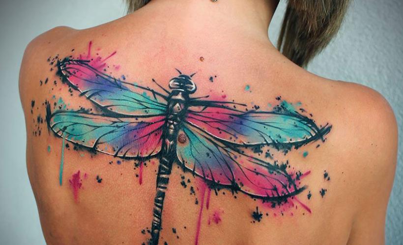 dragonfly tattoo (57)