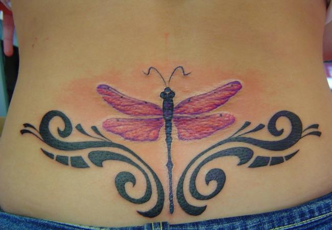 dragonfly tattoo (7)