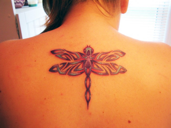 dragonfly tattoo (8)