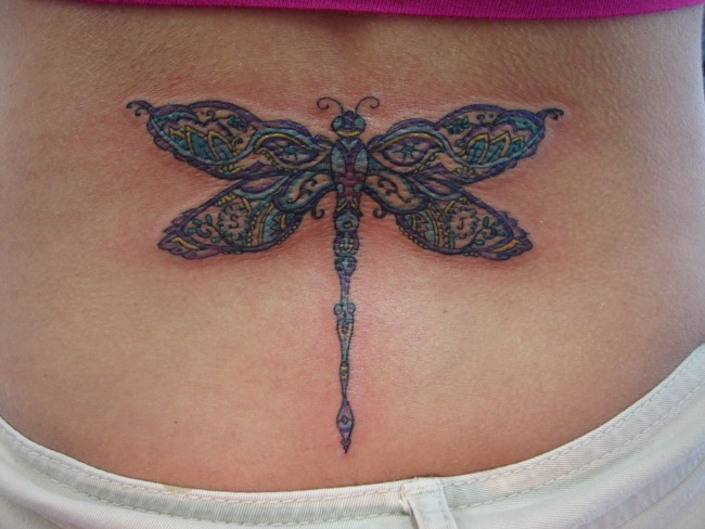 dragonfly tattoo (9)