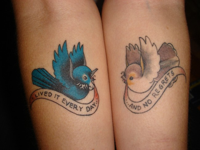 60 cute matching tattoo ideas for couples together forever for Love tattoo designs for couples
