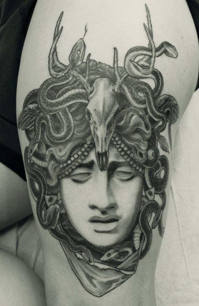 medusa tattoo 10