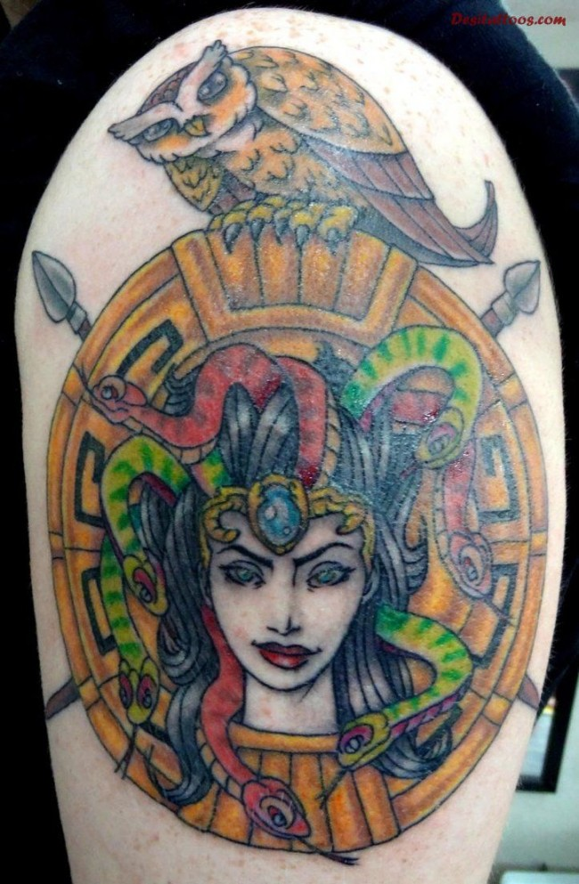 medusa tattoo 2