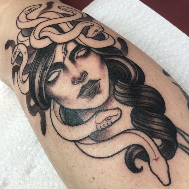 medusa tattoo 22