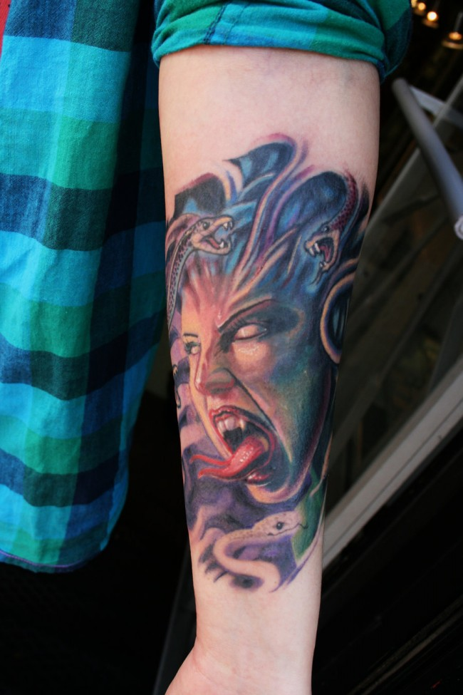 medusa tattoo 24